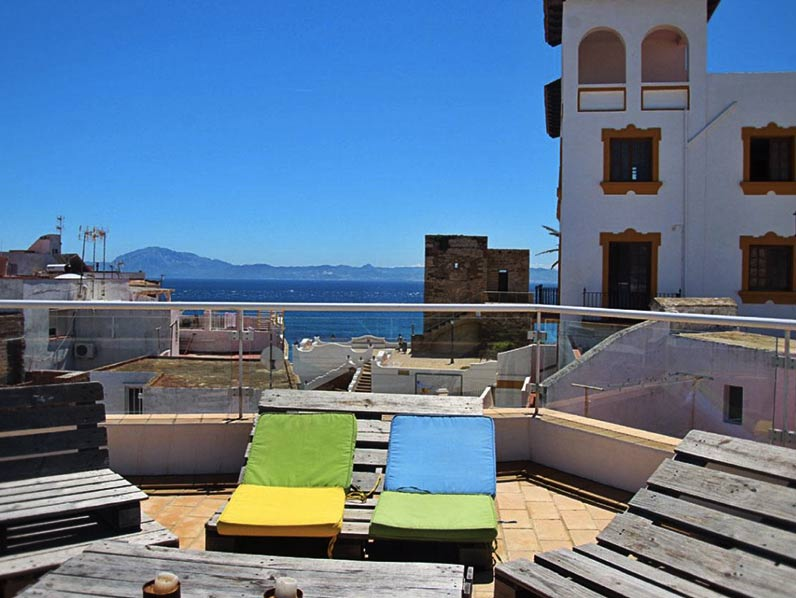 Rooftop Terrace Old Town of Tarifa