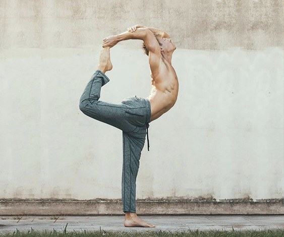 Yoga pose to improve your flexibility