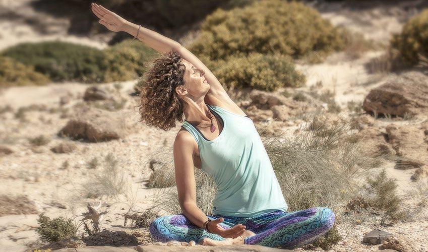 Kitesurf and Yoga for a good balance