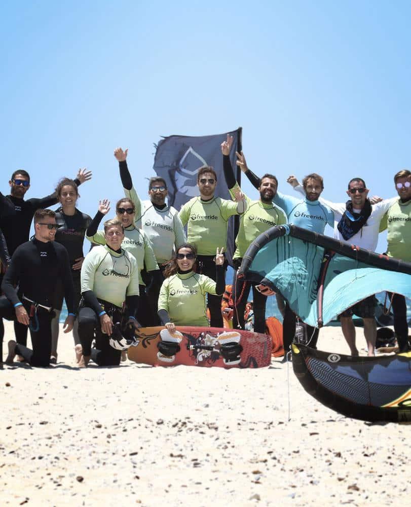 Vacaciones de kitesurf en espana