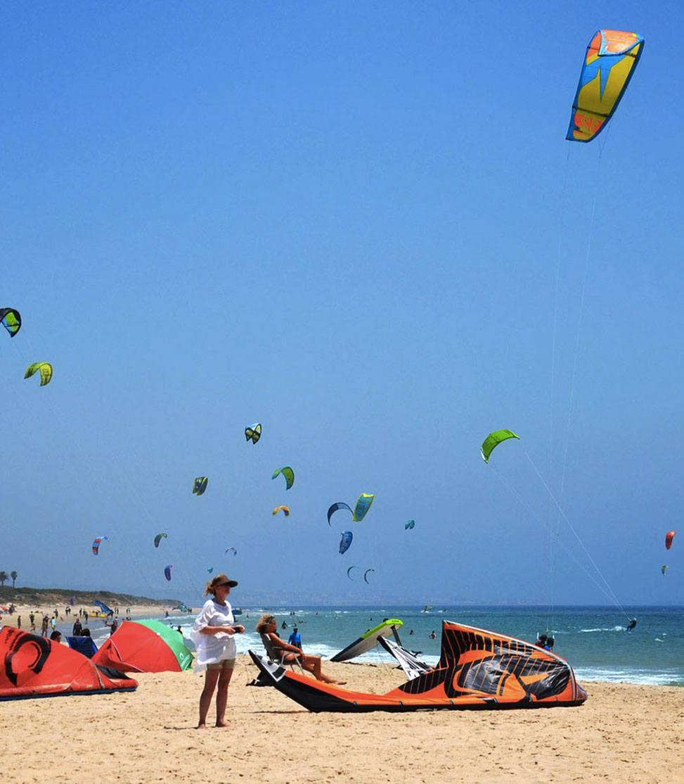 Spots de kitesurf en Tarifa