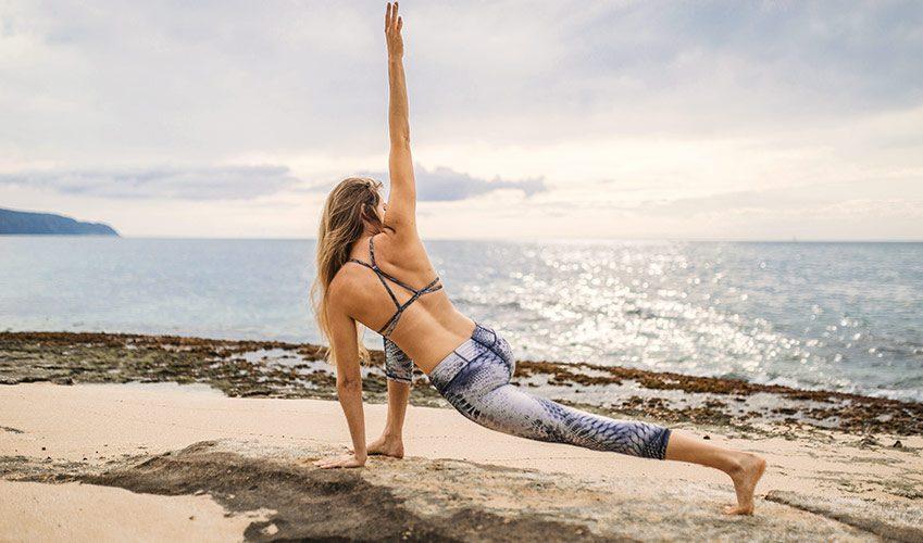 Kitesurf et Yoga la bonne combinaison