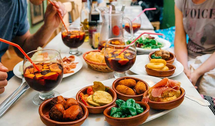 Tarifa for its tapas and local specialities