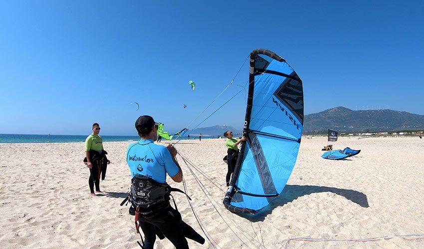 Tarifa pour la qualité de ses cours de kitesurf