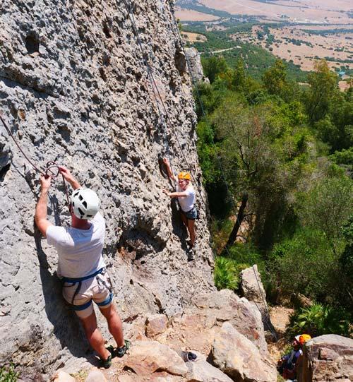Escalade sur le mont Betis