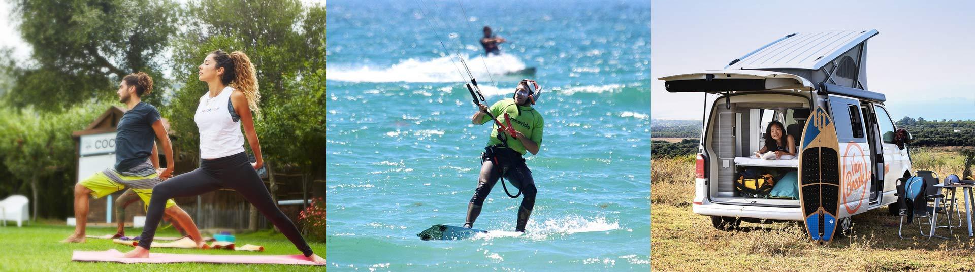 Vacances kitesurf en Europe