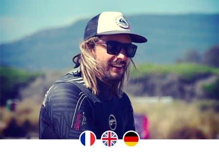 Instructor de kitesurf in Tarifa