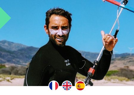 Professeur de kitesurf à Tarifa