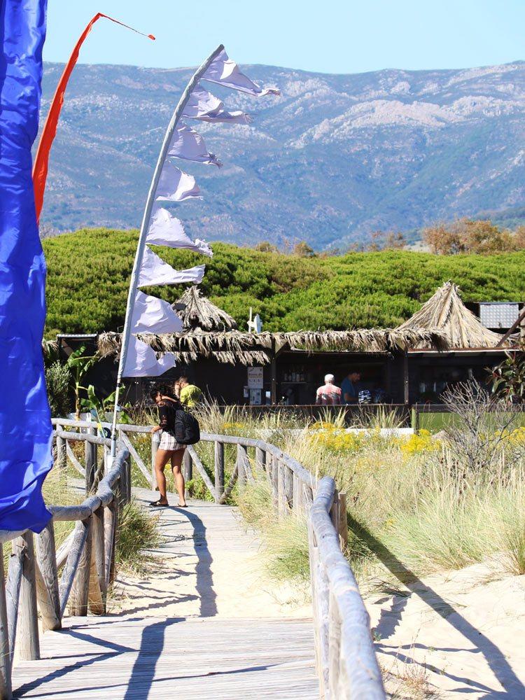 Bar de plage los lances
