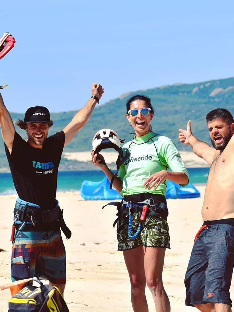 Cours de kitesurf débutant