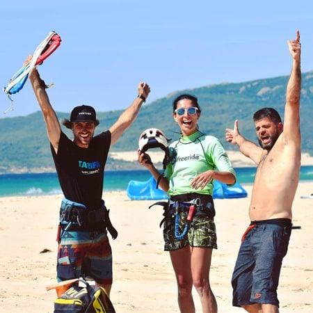 Kitesurfing lessons for beginners
