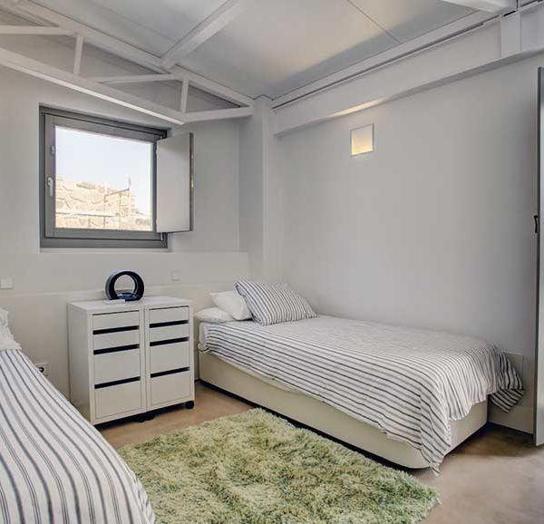 Habitaciones con dos camas en casas vacacionales