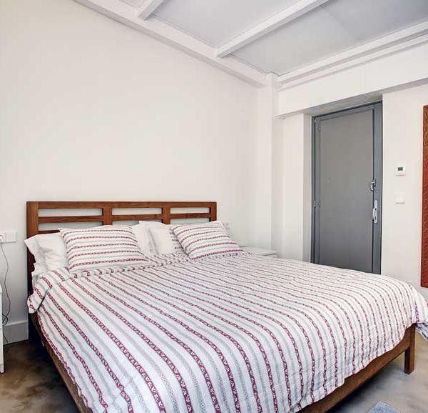 habitación doble con baños privados en casa vacacional